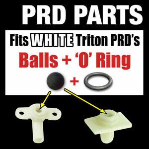 PRD TRITON SHOWER PRESSURE RELIEF DEVICE PARTS WHITE COLOUR PRD 82800450 ±
