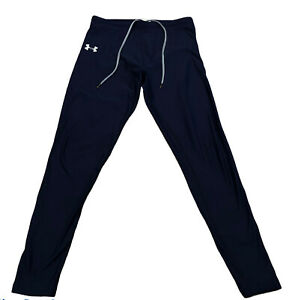 Under Armour Women's  Coldgear Size Large Leggings, Athletic Pants Blue