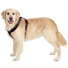Large Dog Harness Adjustable Chest Strap Walking Safe Control Collar Black L