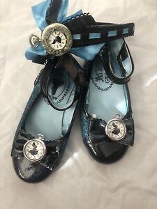 Alice In Wonderland Costume Shoes Size 11/12 & Headband