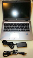 HP EliteBook 840 G3, Intel Core i5-6300U, 8 GB RAM, 256 GB SSD, Win10, V1H23UA