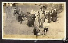 RUSSIA USA REAL PHOTO PTERSBURG 1917 BREAD LINE
