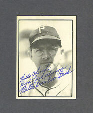 Walter Beck signed Pittsburgh Pirates 1970's T.C.M.A. baseball card