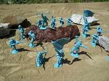 NEW TSSD CIVIL WAR UNION SOLDIERS 54MM 1;32 LIGHT BLUE TOY PLAYSET GETTYSBURG