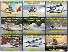 Greenville ME Seaplane Fly In Classic Aircraft Poster