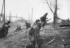 "German Army Soldiers Stalingrad Russia 1942 World War 2 6x4"" Reprint"