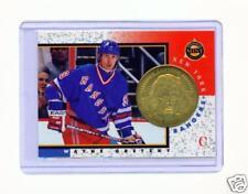 1997-98 PINNACLE MINT WAYNE GRETZKY BRASS COIN & CARD