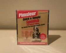 Spanish - Pimsleur Quick & Simple Audio CDs -  2nd Revised Edition New
