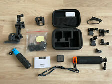 GoPro Hero Session HD Action-Kamera schwarz (CHDHS-102-DE) mit Zubehörpaket TOP