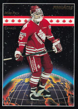 1993-94 Pinnacle #478 Mike PECA RC -  Team Canada WJC