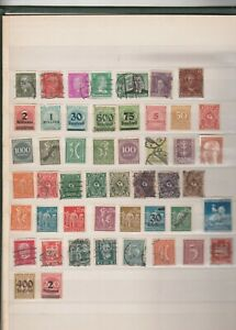 German Empire  Selection of 50 used inc Perfs.