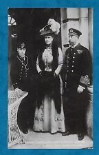 1910'S RP PC KING GEORGE V, QUEEN MARY & PRINCE EDWARD TORQUAY PHOTOGRAPHER