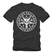 Hail Satan -  Occult Baphomet T-Shirt, Baphomet,Satanic Pentagram Art,666,Venom