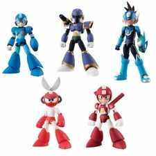 Bandai 66 Action 66ACTION Rockman Mega Man Action Figure Vol 2 Set of 5