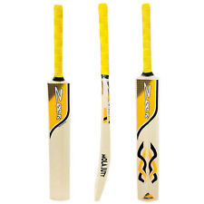 Cricket Bat Kashmir Willow Net Practice Soft Tennis Ball Yellow 44mm ADULT SIZE