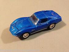 Johnny Lightning 1970 Chevy Corvette Blue Diecast Model Car Scale 1:64