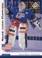 98-99 UD Choice Jean-Marc Pelletier /100 RESERVE World Junior Showcase USA 1998