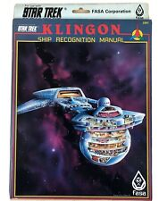 Star Trek RPG Role Playing Game Klingon Ship Recognition Manual 1985