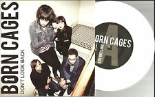 BORN CAGES Don't Look Back w/ RARE DEMO LIMITED USA WHITE 7 Inch Vinyl 2013