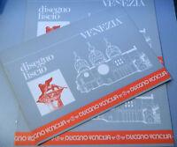 (PRL) ALBUM DA DISEGNO LISCIO QUADRETTI 10 FOGLI PAGINE 24 x 33 cm 1980 PIGNA