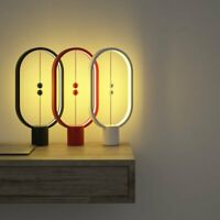 Heng balance lamp - Ellipse magnetic mid-air switch USB powered LED lamp