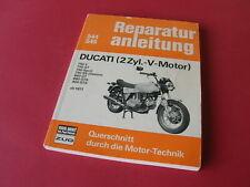 Reparaturanleitung DUCATI 750 / 860 / 900 V-GT-GTS-SS  ab 71 Werkstatthandbuch