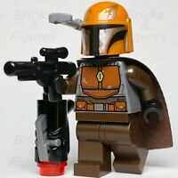 Star Wars LEGO® Mandalorian Male Tribe Warrior Brown Minifigure 75267 Genuine