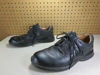 Clarks mens solid black Unstructured Un.Ravel oxfords 10.5 W EUC