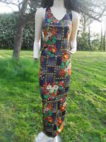VINTAGE 1970s FLORAL MAXI DRESS - BOHO / HIPPY
