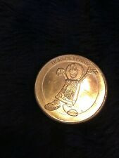 Commemorative large gold color token from Hershey park PA