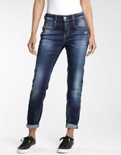 GANG 120603-831-7652 RUBINIA Jeans Denim Straight Fit lang Damen blau