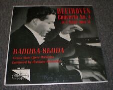 Beethoven Concerto No 4 Badura-Skoda~Westminster XWN 18342~FAST SHIPPING!!!