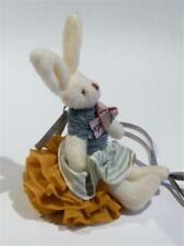A VERY CUTE NECKLACE OF A MINIATURE TOY RABBIT- FREE UK P&P...............CG1930