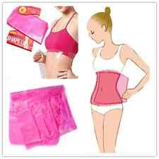 Sauna Firm Slimming Belt Waist Wrap Shaper Burn Fat Cellulite Belly Lose Weight