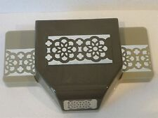 Stampin Up LACE RIBBON TRIM punch doily flower border
