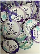 Under the sea, Mermaid, Beach Theme custom favor tags many other items available