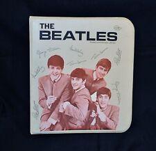 Original Vintage NEMS 1964 THE BEATLES 3 Ring Binder ~ MINT