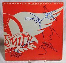 Aerosmith Group Signed Autographed Album E