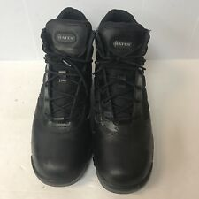 Bates Ankle Boots Men Size 11M Black Leather Upper Great Condition