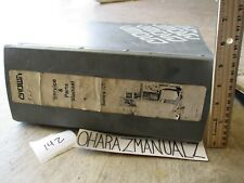 CROWN Forklift RR Series Parts & Service Manual 5 inches Thick!!!