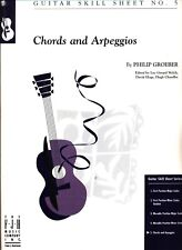 FJH GROEBER CHORDS AND ARPEGGIOS SHEET MUSIC GUITAR NO. 5 SKILL NEW ON SALE!!