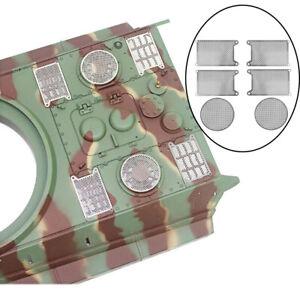 6Pcs Protective Net for 1/16 Heng Long German King Tiger RC Upgrade Parts