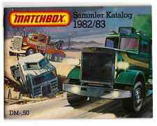 KATALOG/CATALOGUE  MATCHBOX 1982/, DEUTSCH, +++nearly neuwertig/like new !