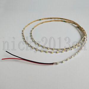 1M 3528 LED Strip Light Tape 3mm Width 96LEDs Flexible Non Waterproof 12V Car