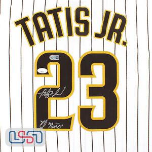 "Fernando Tatis Jr. Signed ""El Nino"" San Diego Padres White Nike Jersey JSA Auth"