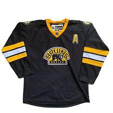Vintage Boston Bruins Jersey Reebok XL CCM Made In Canada Bear Logo Patch Sz 52