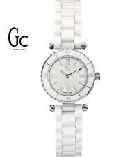 Guess Gc X70007L1S Mini Chic Women's Watch - Ceramic Band White - Swiss