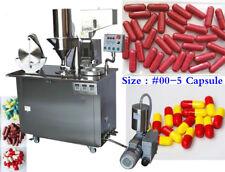 Semi-auto Capsule Filling Machine Size : #00-5 Capsule Filler Machine By Sea