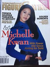 Michelle Kwan Autograph and Champions on Ice program