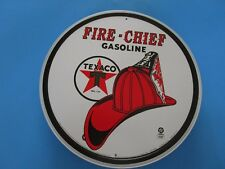 tin metal gasoline service station man cave advertising decor gas oil texaco